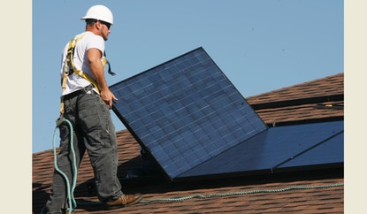 Osceola could be the first county in Florida to require solar panels on all new homes.