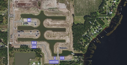 Lennar Homes paid $1.5 million for these 19 lots in Phase 1 of Hanover Lakes, a boating community south of St. Cloud.