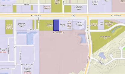 Near the corner of E. Colonial Drive and N. Avalon Park Boulevard is a one-acre parcel recently acquired by Development Equity Partners of Orlando.