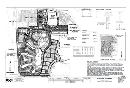 Encore filed this revised site plan with Osceola County that calls for 213 vacation homes, 224 Key West style cottages and 198 timeshare units. Margaritaville Resort will also feature a hotel, water park, condos and apartment complex.