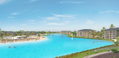 Crystal Lagoons USA CEO Uri Man said he expects to announce five more Crystal Lagoon projects in the Orlando market this year. Construction should start this summer on the first Kissimmee lagoon, pictured above, by Blue Development Group.