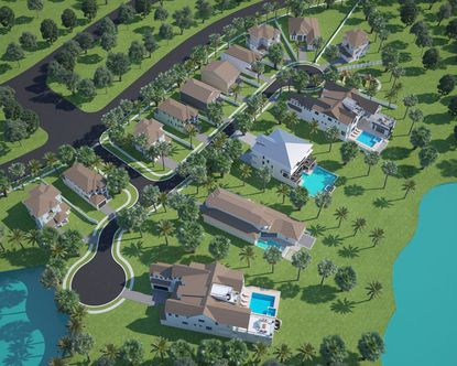 The 14-lot Shores at Lake Whipperwill community features 2-acre-plus lots on Lake Whippoorwill and 10 interior lots.