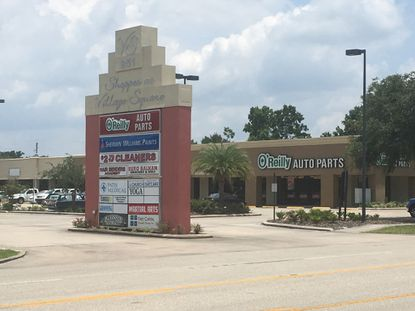 Shoppes at Village Square in Longwood, shown above, was recently purchased by a South Florida Investor for $6.3 million.