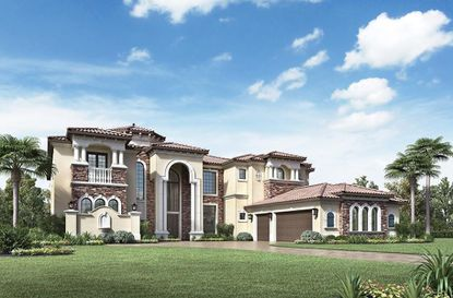 The Villa Lago, shown here, is an example of Toll Brothers' Signature Collection, which will be available in Laurel Pointe at Lake Nona.