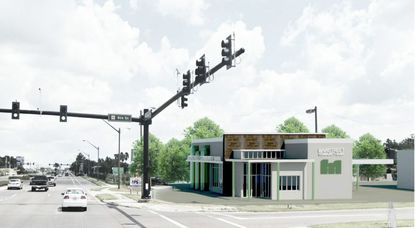 Mainstreet Community Bank of Florida wants to build a new 4,000-square-foot bank branch with a drive-through at 12962 W Colonial Drive.