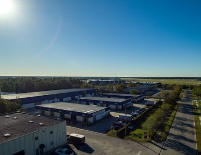 Armstrong Business Center next to Kissimmee Gateway Airport has four multitenant, steel-beam warehouse buildings totaling 68,744 square feet.