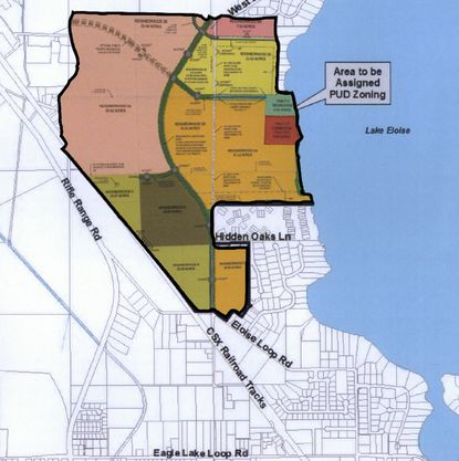 Forestar officials have told the City of Winter Haven they plan to follow the vision of the Harmony on Lake Eloise Planned Unit Development, which called for about 1,100 homes and a lakefront hotel and community center.