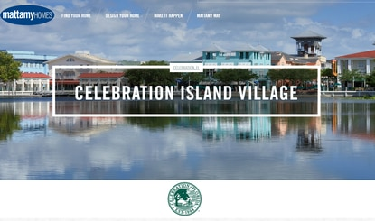 Mattamy Homes is gearing up to file site development plans for the roads that will serve Celebration Island Village.