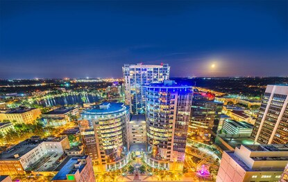 The listing includes a selection of ready-to-move-in suites are available ranging from 2,400± square feet to an entire floor with nearly 20,000± square feet in Orlando's Plaza North and South towers.