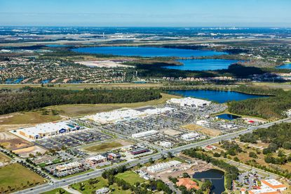 Clarion Partners pays $58M for majority of Lake Nona Landing retail center