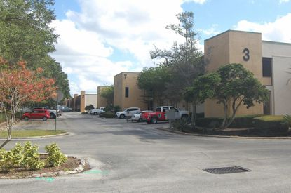 View of the Silver Star Commerce Center on Silver Star Road, one of three neighboring properties recently acquired by Denholtz.