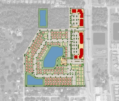 Taylor Morrison Homes and Christopher Todd Communities will build a cottage-style build-to-rent community in Osceola County's Narcoossee overlay.
