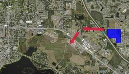 Ivy Lakes will be a 66-acre mixed-use development 2 miles from the Florida Advanced Manufacturing Research Center. The owner is looking for development partners who will compliment the sensor project and surrounding research park on U.S. 192.