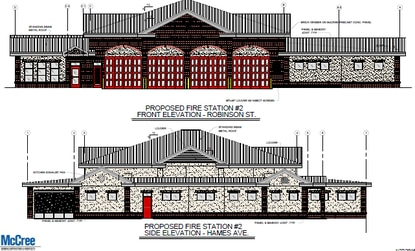 Orlando's new firehouse in downtown Parramore will be a sizable increase over the one it is replacing.