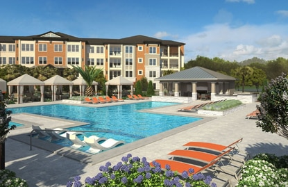 Landmark Companies and JV partner DLC Residential are building Dolce Royal Palm apartments on U.S. 192 in the Four Corners area.