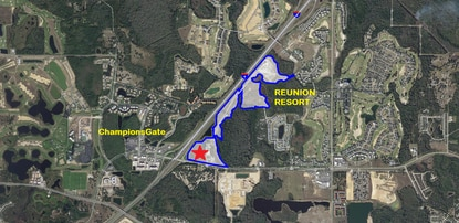 Orlando Health announced it has a contract to buy 25 acres in Reunion Village, a 109-acre mixed-use development by resort developer Encore Capital Management. The health pavillion will anchor the community's town center, at the C.R. 532 - I-4 Interchange.