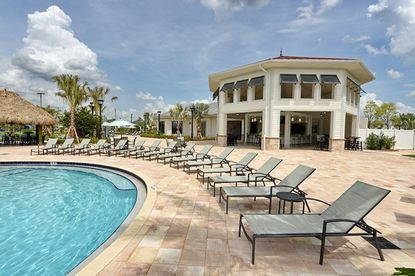 Lennar opened its resort pool and clubhouse this summer at Storey Lake in Kissimmee.