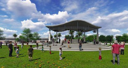 Sanford seeks bids to build second phase of signature Fort Mellon Park