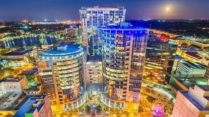 A British financial tech company has bought nearly half of the 20th floor of the Plaza South Tower in downtown Orlando.