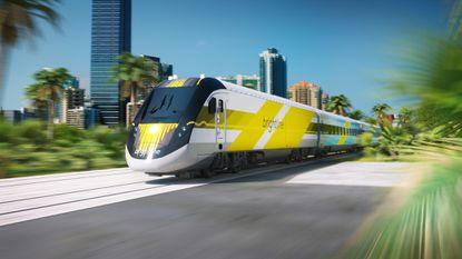 A prototype of Brightline, aka All Aboard Florida