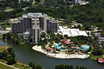 An aerial view of the Hyatt Regency Grand Cypress - Orlando.