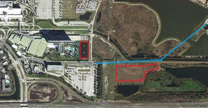 Hilton Orlando owner seeks to free 2 acres for development by diverting stormwater