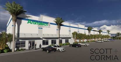 Flavoring manufacturer Aromatech will take a 10,000-square-foot location at Airport Acres.