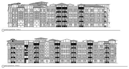 Elevations for the proposed multifamily project just north of the Orange/Osceola county line.