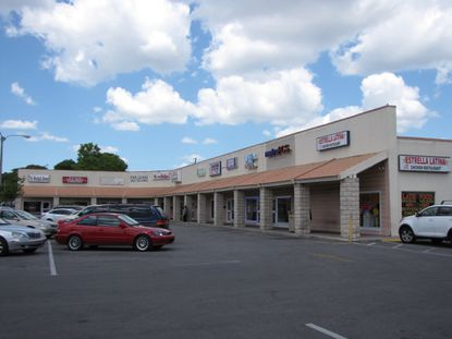 Rena's Plaza, located at 7325 Lake Underhill Road, directly west of Florida Hospital East in Orange County.