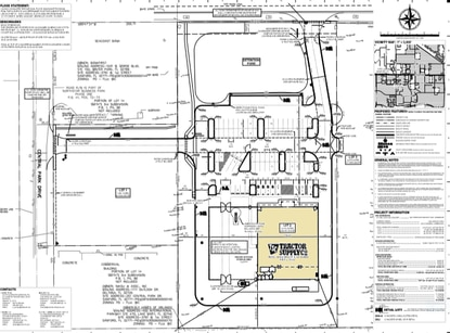 This site plan shows the future Tractor Supply Co. store to be built on S.R. 46 in Sanford. The state highway, on the north side of the project site, will be the main entrance to the 18,900-square-foot store.