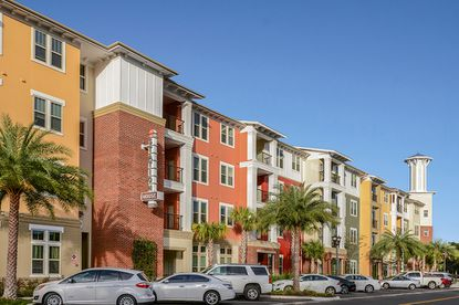A view of the recently sold Station House Apartments in Lake Mary.
