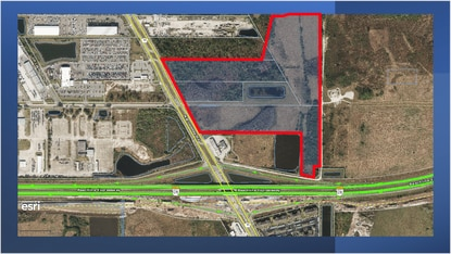 Developer Robert Yeager wants to assemble over 50 acres of land on the northeast corner of Narcoossee Road and the Beachline Expressway (S.R. 528) with plans for mixed-use development.