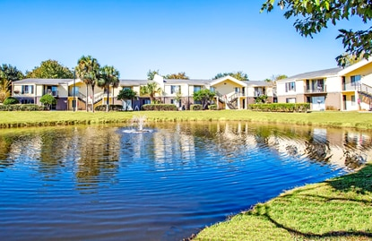 The 144-unit Aventura Apartments located at 5300 Cinderlane Parkway.