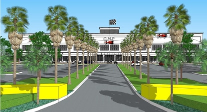 Orlando Motorsports Park will go to the Osceola County Board of Adjustment in September to seek a noise variance for the racing attraction and car club.