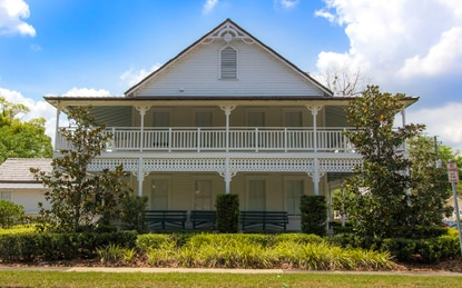 The historic Carson Bryan House was built in 1920 and is Osceola County's last surviving example of Folk Victorian architecture. U.S. Rep. Darren Soto, D-Kissimmee, will open his flagship office there later this month.
