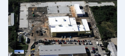 Mullinax Ford will demolish its existing dealership, across from Silver Spurs Arena, when the new 54,000-square-foot building is finished in March.