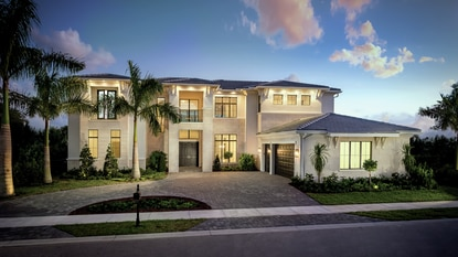 Luxury homebuilder Toll Brothers is the second production builder invited to sell in the exclusive Bella Collina golf community in Monteverde.