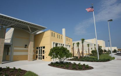 Osceola County's Liberty High School is one of four high schools to be built using the same prototype design. The school district is looking for a prototype design for new middle schools.