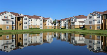 A photo of the Stratford Point apartment complex in Sanford.