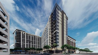 Banner breaks ground on downtown Orlando's newest apartment tower
