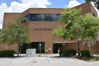 The Winter Park Library at 460 E. New England Ave.