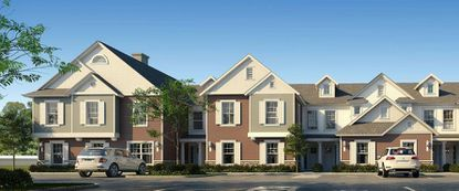 An artist's rendering of townhouses planned for the Summerville Resort project in Osceola County.