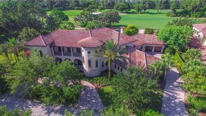 An aerial view of the home on Sloane Street in Lake Nona recently purchased by Mario Conte and family.