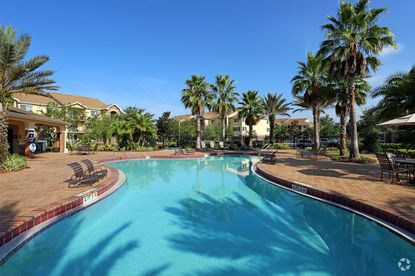 A view of the Arium Falcon Pines apartment property in Orlando, recently acquired by TruAmerica Multifamily.