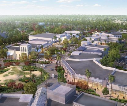 The Margaritaville Resort shopping complex will include a live music venue and movie theater.