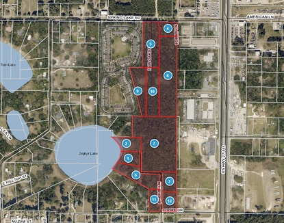 Atlantic Housing Partners paid over $1.2 million to assemble 12 parcels for the expansion of its Spring Lake Cove mixed-income apartment community.