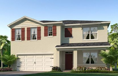 D.R. Horton Homes will be building in Brighton. Models in its Express Homes brand include the Hayden (shown), Aria and Cali. All feature smart-home technology.