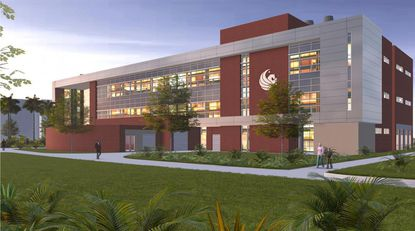 UCF will considerably expand its lab capabilities with a new, three story research facility.