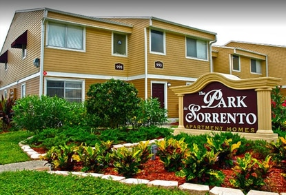 New landscaping, paint and signage helped raise the value of the 45-year-old apartment complex.