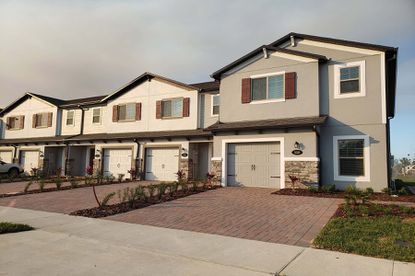 Townhomes at M/I Homes' Hidden Lake community in Apopka range in size from about 1,380 square feet to 1,685 square feet.